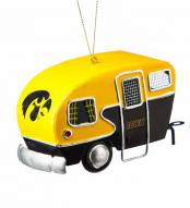 Iowa Hawkeyes Team Camper Ornament
