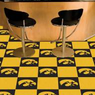 Iowa Hawkeyes Team Carpet Tiles