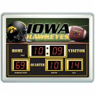 Iowa Hawkeyes Thermometer Scoreboard Clock
