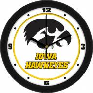 Iowa Hawkeyes Traditional Wall Clock