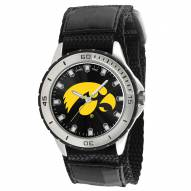 Iowa Hawkeyes Veteran Velcro Mens Watch