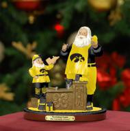 Iowa Hawkeyes Workshop Santa With Free Ornament