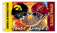 Iowa/Iowa State 3' x 5' House Divided Flag