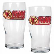 Iowa State Cyclones 20 oz. Pub Glass - Set of 2