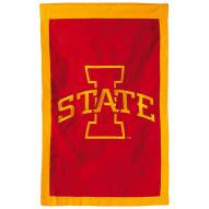 "Iowa State Cyclones 28"" x 44"" Double Sided Applique Flag"