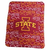 Iowa State Cyclones NCAA Classic Fleece Blanket