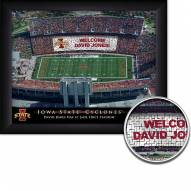 Iowa State Cyclones Personalized Framed Stadium Print
