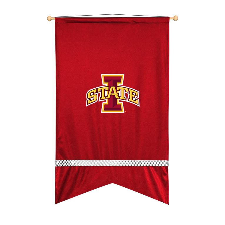 Iowa State Cyclones Sidelines Wall Flag