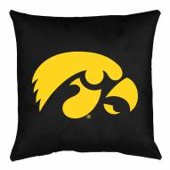Iowa Hawkeyes NCAA Locker Room Toss Pillow