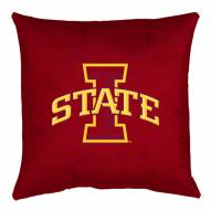 Iowa State Cyclones NCAA Locker Room Toss Pillow