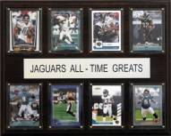 "Jacksonville Jaguars 12"" x 15"" All-Time Greats Plaque"