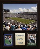 """Jacksonville Jaguars 12"""" x 15"""" Stadium Plaque"""