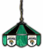 "Jacksonville Jaguars 14"" Glass Pub Lamp"