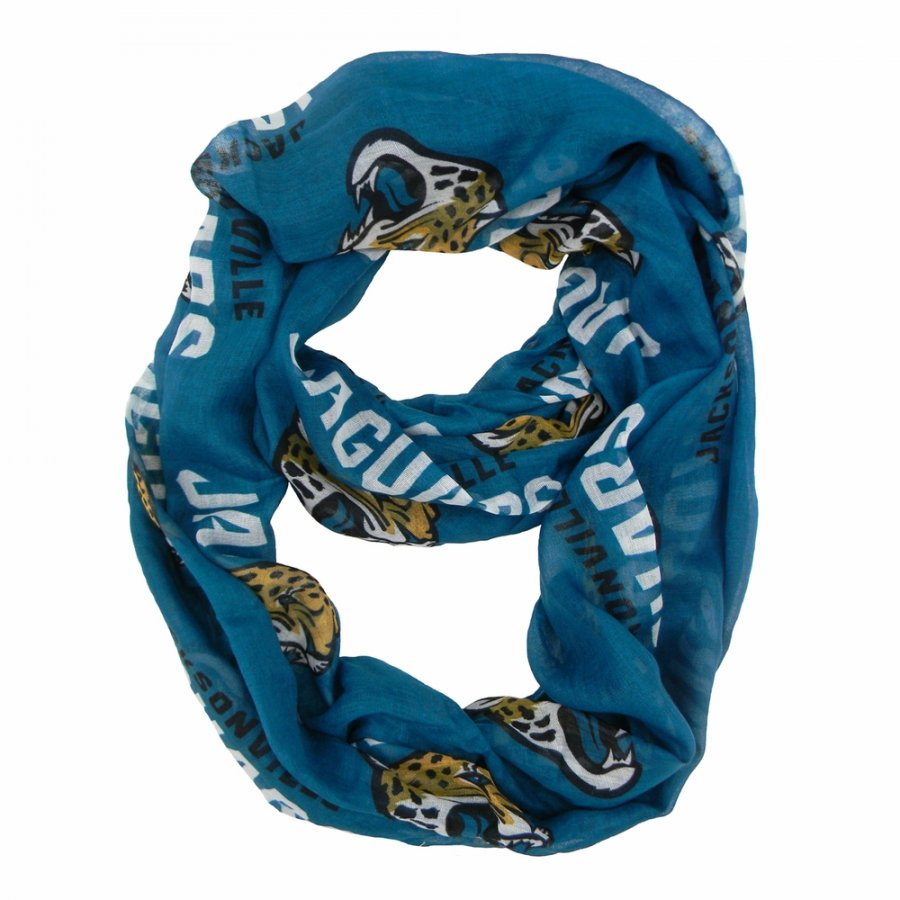 Jacksonville Jaguars Alternate Sheer Infinity Scarf