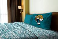 Jacksonville Jaguars Anthem Twin Bed Sheets
