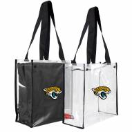 Jacksonville Jaguars Convertible Clear Tote
