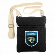Jacksonville Jaguars Crest Chevron Crossbody Bag