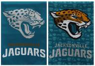 Jacksonville Jaguars Double Sided Glitter Flag