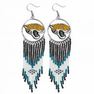 Jacksonville Jaguars Dreamcatcher Earrings