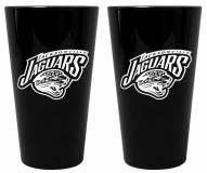 Jacksonville Jaguars Lusterware Pint Glass - Set of 2
