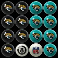 Jacksonville Jaguars NFL Home vs. Away Pool Ball Set