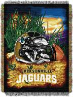 Jacksonville Jaguars NFL Woven Tapestry Throw