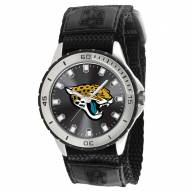 Jacksonville Jaguars Veteran Velcro Mens Watch