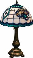 Jacksonville Jaguars NFL Stained Glass Table Lamp