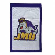"James Madison Dukes 28"" x 44"" Double Sided Applique Flag"