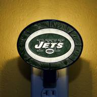 New York Jets NFL Stained Glass Night Light