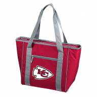 Kansas City Chiefs 30 Can Cooler Tote Bag