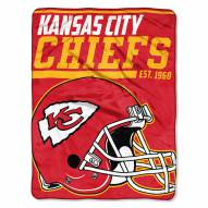 Kansas City Chiefs 40 Yard Dash Blanket