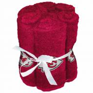 Kansas City Chiefs 6 Pack Washcloths