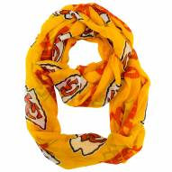 Kansas City Chiefs Alternate Sheer Infinity Scarf