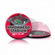 Kansas City Chiefs Arrowhead Stadium Crystal Magnet