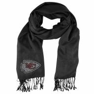 Kansas City Chiefs Black Pashi Fan Scarf