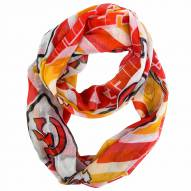 Kansas City Chiefs Chevron Sheer Infinity Scarf