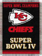 Kansas City Chiefs Commemorative Throw Blanket