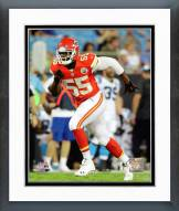 Kansas City Chiefs Dee Ford 2014 Action Framed Photo