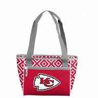 Kansas City Chiefs Double Diamond Cooler Tote