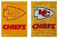 Kansas City Chiefs Double Sided Glitter Garden Flag