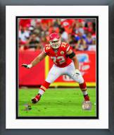 Kansas City Chiefs Eric Fisher 2014 Action Framed Photo