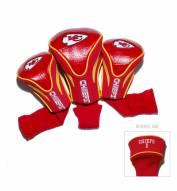 Kansas City Chiefs Golf Headcovers - 3 Pack