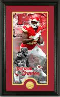 Kansas City Chiefs Jamaal Charles Supreme Bronze Coin Panoramic Photo Mint