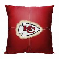 Kansas City Chiefs Letterman Pillow