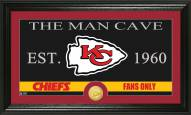 Kansas City Chiefs Man Cave Bronze Coin Panoramic Photo Mint