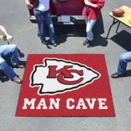 Kansas City Chiefs Man Cave Tailgate Mat