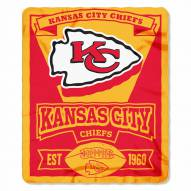 Kansas City Chiefs Marque Fleece Blanket