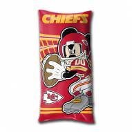 Kansas City Chiefs Mickey Mouse Body Pillow
