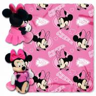 Kansas City Chiefs Minnie Mouse Throw Blanket